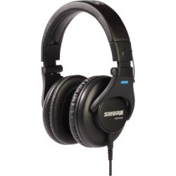 SRH440 Professional Studio Black Wired Headphones found on GamingScroll.com from Game Stop US for $99.99