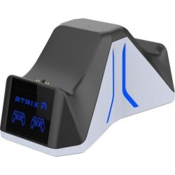 Atrix Dual Sense Charging Station for PlayStation 5 PS5 Accessories Sony GameStop found on Bargain Bro Philippines from Game Stop US for $24.99
