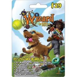 Digital WIzard101 Pet Trainer Bundle Card InComm GameStop