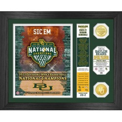 NCAA Baylor Bears 2021 Division I Mens Basketball National Champions Schedule Bronze Coin Mint Highland Mint GameStop found on Bargain Bro from Game Stop US for USD $75.99