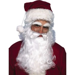 Santa Claus Economy Beard and Wig Set, One Size Rubie's Costume Company GameStop found on Bargain Bro Philippines from Game Stop US for $17.99