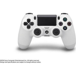Sony DUALSHOCK 4 Glacier White Wireless Controller PS4 Sony Computer Entertainment America Available At GameStop Now!