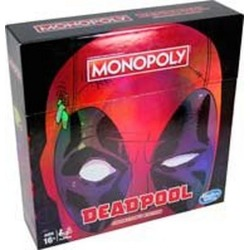 Hasbro Monopoly Game: Marvel Deadpool Collector's Edition - Get it First at GameStop Available At GameStop Now!