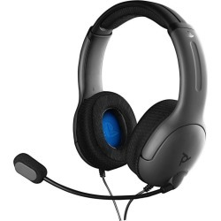 PlayStation 4 LVL40 Black Wired Stereo Gaming Headset PS4 PDP Available At GameStop Now!