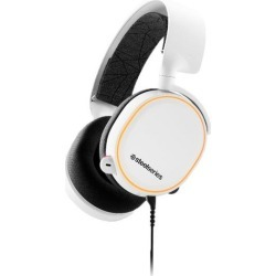 Arctis 5 RGB White Wired Gaming Headset PC SteelSeries Available At GameStop Now!