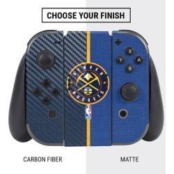 NBA Denver Nuggets Skin Bundle for Nintendo Switch Nintendo Switch Accessories Nintendo GameStop found on GamingScroll.com from Game Stop US for $27.99