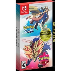Pokemon Sword and Shield Double Pack Nintendo Switch Available At GameStop Now!