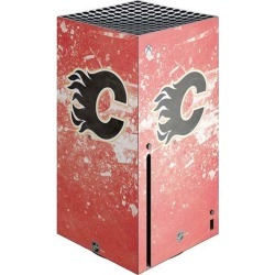 NHL Calgary Flames Console Skin for Xbox Series X found on Bargain Bro from Game Stop US for USD $18.99