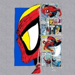 Hybrid Promotions, LLC Spider-Man Profile Comic T-Shirt Available At GameStop Now!