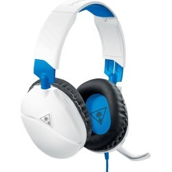 PlayStation 4 Recon 70 White Wired Gaming Headset PC Turtle Beach Available At GameStop Now!