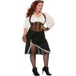 Steampunk Ladies Plus Size Costume