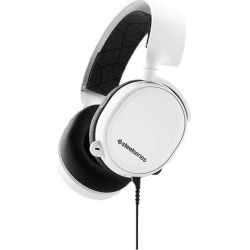 SteelSeries Arctis 3 Wired Gaming Headset White PC Available At GameStop Now! found on GamingScroll.com from Game Stop US for $69.99