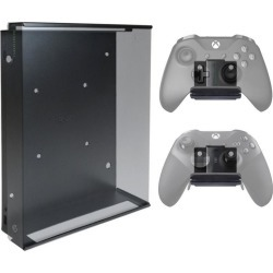 Xbox One X Console and 2 Controller Pro Wall Mount Bundle