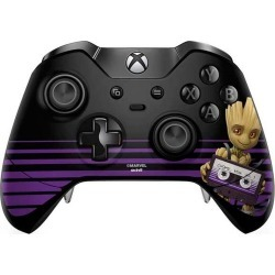 Guardians of the Galaxy Baby Groot Controller Skin for Xbox One Elite Xbox One Accessories Microsoft GameStop found on GamingScroll.com from Game Stop US for $11.99