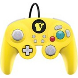 Nintendo Switch Super Smash Bros. Ultimate Pikachu Edition Wired Fight Pad Pro Controller Pre-owned Nintendo Switch Accessories Nintendo GameStop