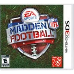 Electronic Arts Madden NFL Football - 3DS Available At GameStop Now! found on GamingScroll.com from Game Stop US for $24.99