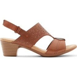 b7ca16631f Clarks Wicoredda - Women's Footwear Sandals Heels - Brown found on MODAPINS  from GLOBO Shoes for