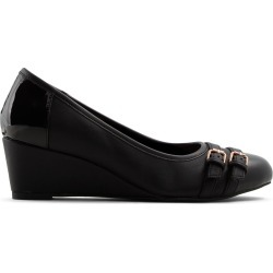 Luca Ferri Cheaclya - Women's Footwear Shoes Heels Wedges - Black found on MODAPINS from GLOBO Shoes for USD $19.03