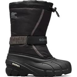 Sorel Flurry-jb - Kids Boys Junior Boots - Black