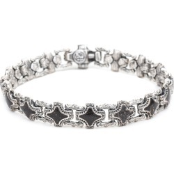 William Henry Rook Stone Sterling Silver Bracelet