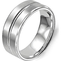 Crown Ring Classic Brushed Finish Men's Wedding Band found on MODAPINS from J.R. Dunn Jewelers for USD $1010.00
