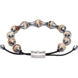 William Henry Fossil Zenith Adjustable Bead Bracelet