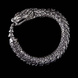 William Henry Ornate Snake Bracelet