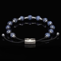 William Henry Sodalite Summit Adjustable Bead Bracelet