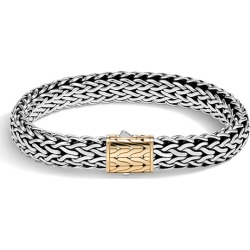John Hardy Classic Chain 11mm Gold & Silver Bracelet