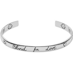 Gucci Blind For Love Silver Bangle Bracelet found on Bargain Bro India from J.R. Dunn Jewelers for $330.00