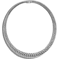 John Hardy Classic Chain Silver Necklace