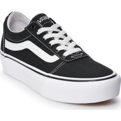 10c89cd67940234f4d48969b9ac58ce590a6269a.jpg?url=https%3A%2F%2Fmedia.kohlsimg - Vans Ward Women's Platform Skate Shoes, Size: 5, Black