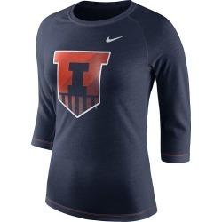 Women's Nike Iowa Hawkeyes Champ Drive Tee, Size: XL, Med Orange