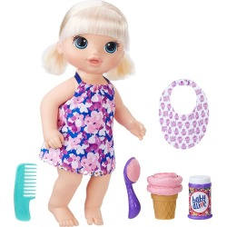 Baby Alive Blonde Magical Scoops Baby Doll by Hasbro, Multicolor