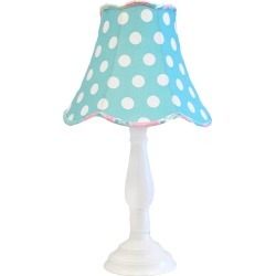 My Baby Sam Pixie Baby Aqua Lamp, Blue
