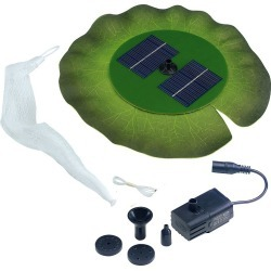 Floating Lily Pad Solar Fountain