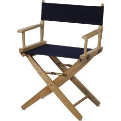 "Casual Home 18"" Director's Chair, Blue (Navy)"