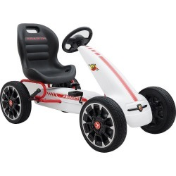 4e3105c067a5c6daf68732504d22fcc920424dcf.jpg?url=https%3A%2F%2Fmedia.kohlsimg - Blazin Wheels Abarth F1 Pedal Go Kart Ride-on Vehicle, Multicolor