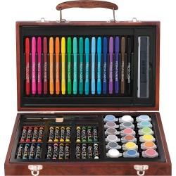 Art 101 65-pc. Wood Art Set, Multicolor