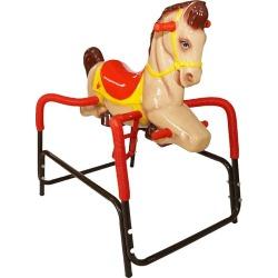 Wonder Horse Palomino Pony by American Classic Toys, Beig/Green (Beig/Khaki)