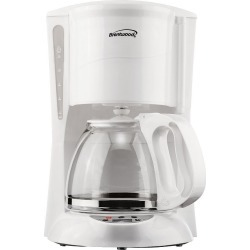 Brentwood 12-Cup Digital Coffee Maker, White