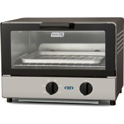 Dash Compact Toaster Oven, Grey