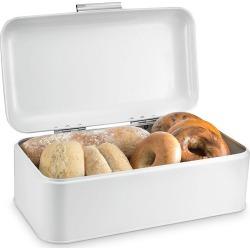 Polder Retro Bread Box, White