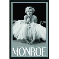 Marilyn Monroe Ballerina Framed Wall Art, Black