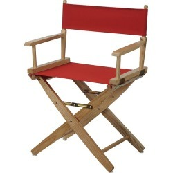 """Casual Home 18"""" Director's Chair, Red"""