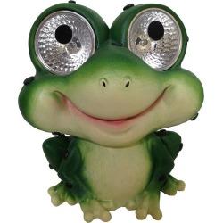 Smart Solar 2-piece Frog Accent Light Set, Green