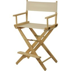"""Casual Home 24"""" Director's Chair, Natural"""