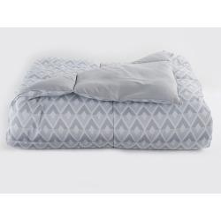 The Big One® Down Alternative Reversible Comforter, Light Grey