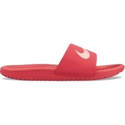 Nike Kawa Girls' Slide Sandals, Size: 12, Dark Red