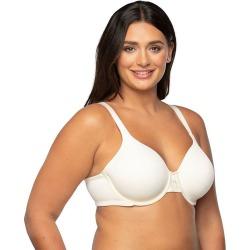 Plus Size Vanity Fair Bras: Beauty Back Back Smoother Full-Figure Bra 76380, Women's, Size: 42 Dd, White